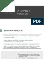 U1 - T2.1 - Estrategia proyectual - Teoría de la Arquitectura 3
