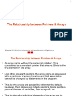 4. relationship between pointers and arrays