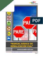GUIA MANUAL BÀSICO SEÑALIZACION VIAL