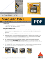 SikaQuick-Patch-How-To-Install-Application-Guide