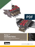 Parker Valve Mobile Pulsar VPL-VP-VPO Model Code Book HY14-0108