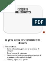 CATEQUESIS MIGRANTES