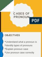 Cases of Pronoun
