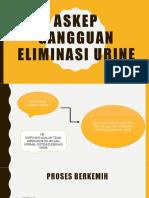 Askep gangguan eliminasi urine