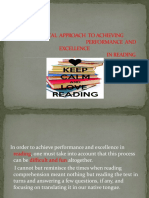A PRACTICAL APPROACH TO ACHIEVING pp