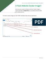 How To Create A Flask Website Docker Image By Binooplal.pdf