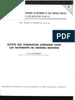 Annales ITBTP n°237 - Effet des varation linéaires sur les IGH - Davidovici 1967.pdf