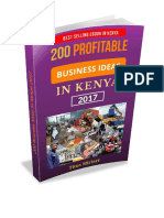 200 Profitable Business Ideas In Kenya