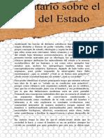 2 COMENTARIO DE ORIGEN DEL ESTADO