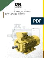Menzel_Katalog_IE2_IE3_IE4_Low voltage motors