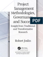 (Best practices in portfolio program and project management) Joslin, Robert - Project management methodologies, governance and success_ insight from traditional and transformative research-CRC Press (.pdf