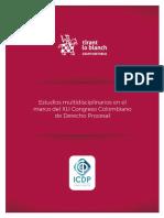 2020 - ICDP - Estudios multidisciplinarios