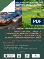 PLAN ESTRATÉGICO PARA LA CONVIVENCIA ARMONIOSA ENTRE LA MINERÍA Y LA AGRICULTURA INCIDENCIA EN LOS PUEBLOS DEL PERÚ.pdf