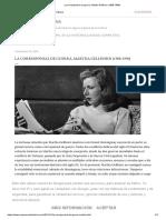La corresponsal de guerra, Martha Gellhorn (1908-1998)