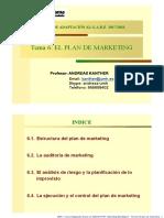 Mkt.Estr.2018 Tema 6 El plan de marketing