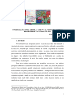 Considerações Sobre a Família Escrava Na Fronteira Oeste Do Rio Grande de São Pedro (1750-1835)