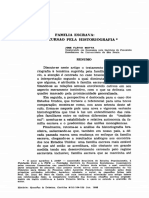 Família escrava. Uma incursão pela historiografia.pdf