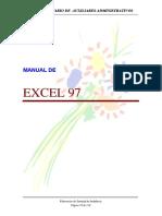 MANUAL EXCEL 97