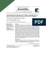 CharacterizationofThreeSpeciesofThripson...Biosaintifika822016185-192