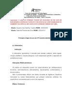 principais medicamentos utilizados na emergência