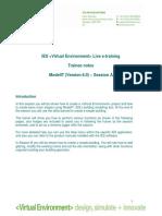 ModelIT Ver 6_0 Session A Web Training Notes Rev2