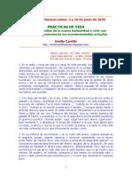 Emilio Carrillo. Encuentro Mensual.Online.Prácticas de vida