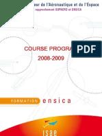 Course program 08-09