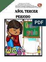 ESPAÑOL TERCER PERIODO GRADO 5°