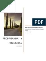 COMPARACION DE PROPAGANDA Y PUBLICIDAD