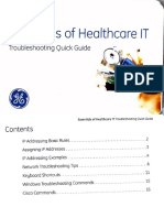 Essentials Of Healthcare Troubleshooting Quick Guide GE