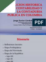 EVOLUCION HISTORICA DE LA CONTABILIDAD Y LA CONTADURIA