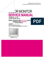 LG StudioWorks 700S(CB777G-NA), 700E (CB777G-AA), 700B (CB777G-EA) Chassis CA-109 Service Manual 3828TSL080A_(CB777G)