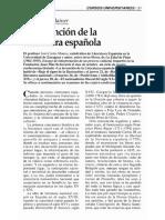 MAINER La invención de la literatura española