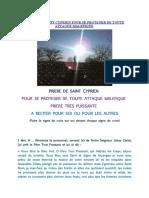 PRIERE DE SAINT CYPRIEN POUR SE PROTEGER DE TOUTE ATTAQUE MALEFIQUE.pdf