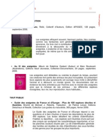 Bibliographie p60-66