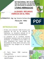 UNIDAD 1_1 RECURSOS HIDRICOS EN PERU