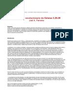 Ferreira.El proyecto revolucionario de Gál 3,26-28