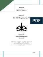 referat hepatoma lily