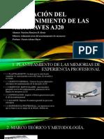 Planeacion del mantenimiento de las aeronaves A320, Sanchez Ramirez B Alexis.pptx