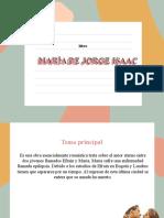 MARÍA DE JORGE ISAAC