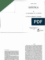 Lukacs, EstÇtica 1