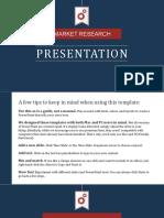 5. Market Research Presentation