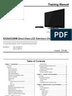 Sony CTV-62 Training Manual
