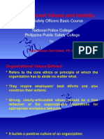Organizational Values and Identity PSOBC - Copy