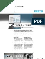 Análisis de Festo de la calidad del aire comprimido - PSI_912_5_es