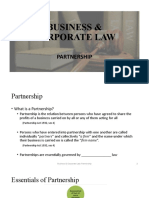 Lecture 07 - Partnership