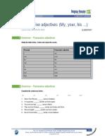 UNIT 1.4  possessive-adjectives