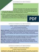 FORMAS Y MEDIOS DE PAGO