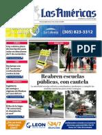DIARIO LAS AMÉRICAS Portada digital del lunes 5 de octubre de 2020