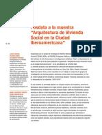 Arq de vivienda social en latinoamerica